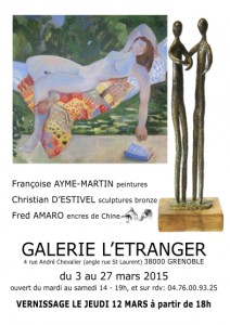 Exposition Galerie de l'Etranger Grenoble